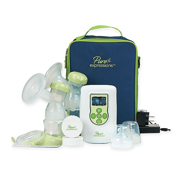 Alternate image 1 for Drive Medical Pure Expressions™ Dual Channel Electric Breast Pump in White