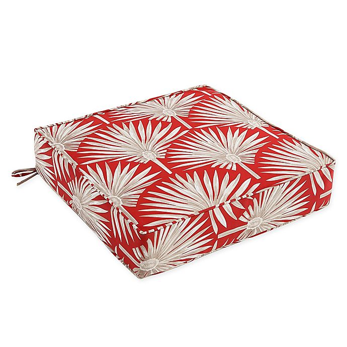 Alternate image 1 for Outdoor Deep Seat Cushion in Spice Palm