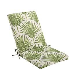 Print Indoor/Outdoor Folding Wicker Chair Cushion