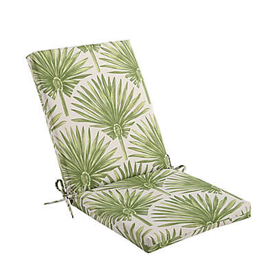 Print Indoor/Outdoor Folding Wicker Chair Cushion