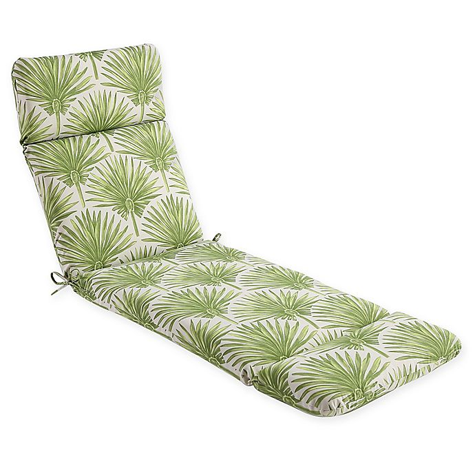 Phenomenal Print Indoor Outdoor Chaise Lounge Chair Cushion Bed Bath Pabps2019 Chair Design Images Pabps2019Com