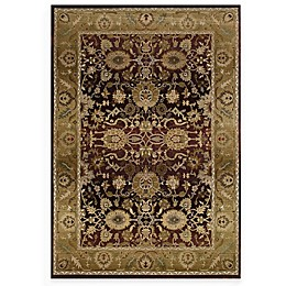Oriental Weavers Mathews Collection Rugs in Burgundy