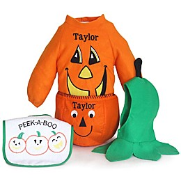 Silly Phillie® Creations Size 6-12M 4-Piece Pumpkin Halloween Costume