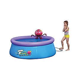 Pool Central™ 6-Inch x 24.5-Inch Inflatable Swimming Pool in Purple