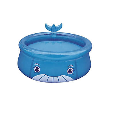Pool Central® 69-Inch x 24.5-Inch Inflatable Whale Swimming Pool