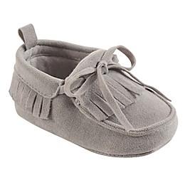 Hudson Baby® Fringe Moccasin in Grey