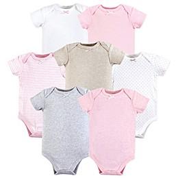 Hudson Baby® 7-Pack Short Sleeve Bodysuits