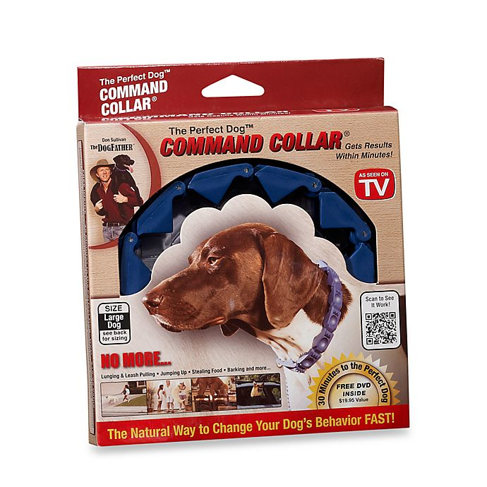 Alternate image 1 for The Perfect Dog™ Command Collar® Large Dog Training System