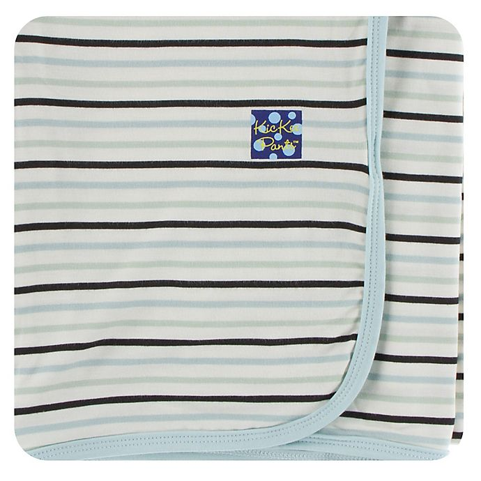 Alternate image 1 for KicKee Pants® Tuscan Afternoon Striped Swaddling Blanket