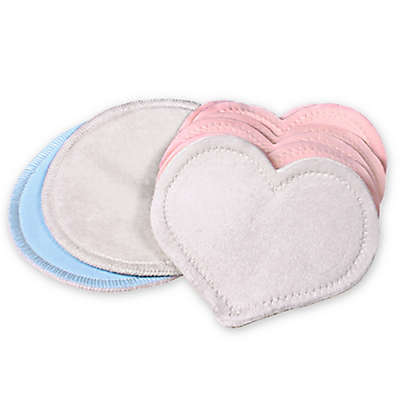 bamboobies® Multi-Pack Washable Nursing Pads in Light Pink & Light Blue