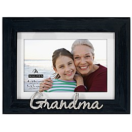 Malden® Grandma Matted 4-Inch x 6-Inch Photo Frame in Grey