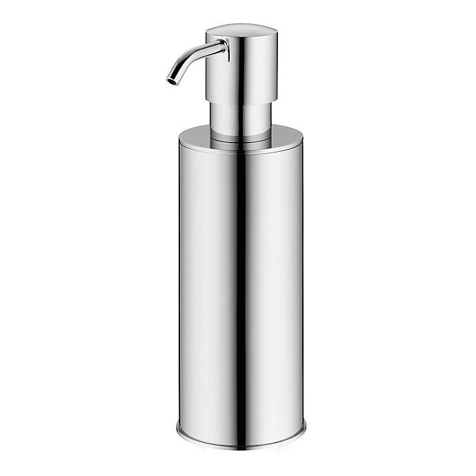 Alternate image 1 for KELA Brass 7.1-Inch Soap Dispenser in Silver