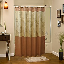 Sherry Kline Rindge Shower Curtain in Tan