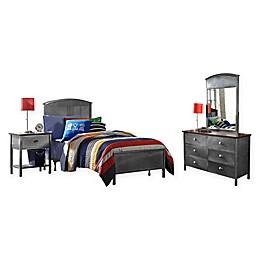 Hillsdale Kids and Teen Urban Quarters Twin 4-Piece Panel  Bedroom Set