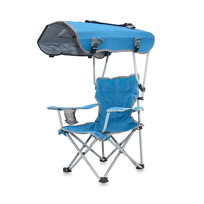 Kelysus Kid S Canopy Chair In Blue Bed Bath Amp Beyond