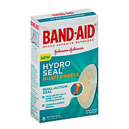Johnson & Johnson Band-Aid® Brand Hydro Seal™ 6-Count Blister Heels Bandages