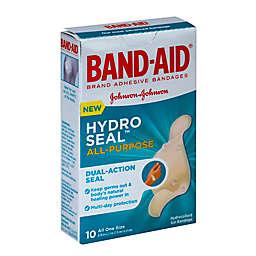 Johnson & Johnson Band-Aid® 10-Count Hydro Seal All Purpose Adhesive Bandages