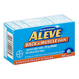 Aleve® 50-Count Muscle & Back Pain Reliever Tablets