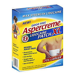 Aspercreme® 3-Count Max Strength Lidocaine XL Patches