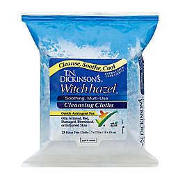 T.N. Dickinson's® 25-Count Witch Hazel Cleansing Cloths