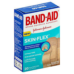 Johnson & Johnson Band-Aid® Skin-Flex™ 20-Count Assorted Size Adhesive Bandages