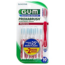 GUM® Go-Betweens 10-Count Moderate Proxabrush Refills