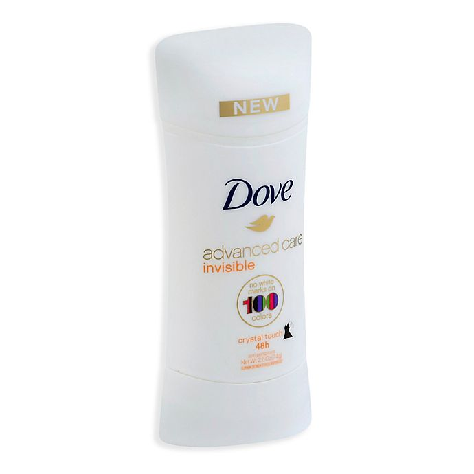 Alternate image 1 for Dove 2.6 oz. Advanced Care Invisible Solid Antiperspirant in Crystal Touch