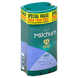 Mitchum 2-Count 2.7 oz. Mens Advanced Invisible Solid Anti-Perspirant and Deodorant in Ice Fresh