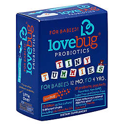 LoveBug® Tiny Tummies™ 30-Count 12 Months to 4 Years Baby Probiotics Packets
