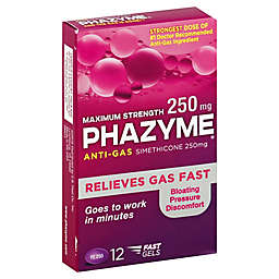 Phazyme® 12-Count 250mg Maximum Strength Anti-Gas Soft Gels