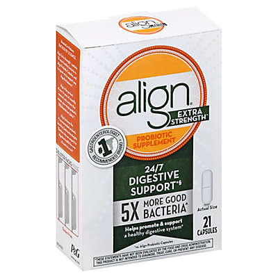 Align® 21-Count Extra Strength Probiotic Supplement