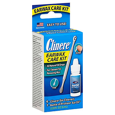 Clinere® 0.2 oz. Earwax Care Kit