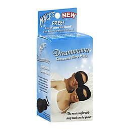 Mack's® Dreamweaver™ Contoured Sleep Mask in Black with Earplugs
