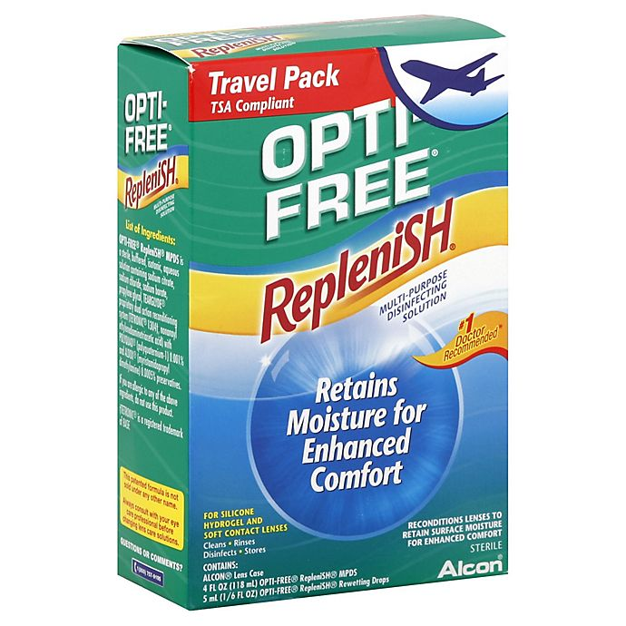 Alternate image 1 for Alcon® Opti-Free® 4 oz. Replenish Multi-Purpose Travel Kit