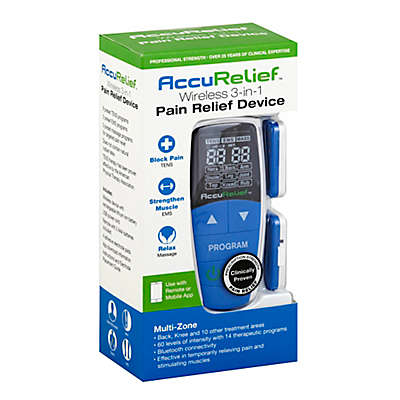 AccuRelief™ Wireless 3-in-1 Pain Relief Device