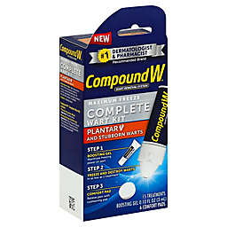 Compound W® 15-Count Complete Wart Kit