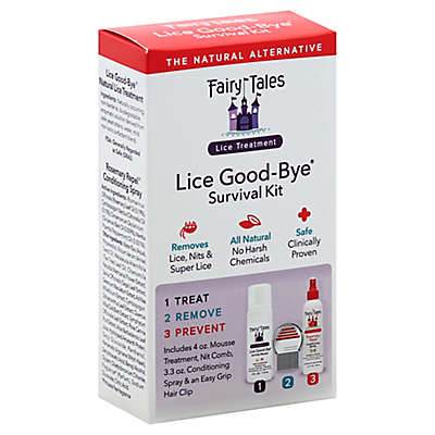 Fairy Tales 3 Piece Lice Good-Bye Survival Kit for Lice Treatment