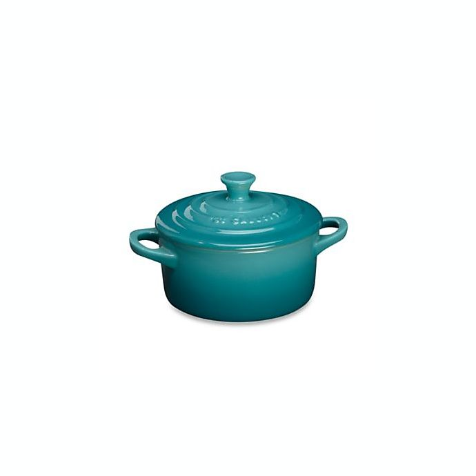 Alternate image 1 for Le Creuset® 8 oz. Mini Round Stoneware Cocotte