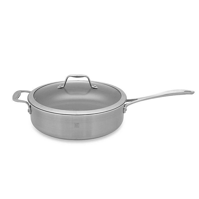 Alternate image 1 for Zwilling J.A. Henckels Spirit 3-Quart Ceramic Coated Nonstick Covered Saute Pan