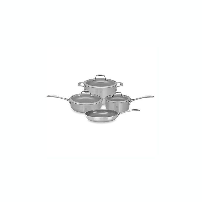Alternate image 1 for Zwilling J.A. Henckels Spirit 7-Piece Ceramic Coated Nonstick Cookware Set