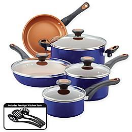 Farberware® Glide™ Nonstick Copper Ceramic 12-Piece Cookware Set