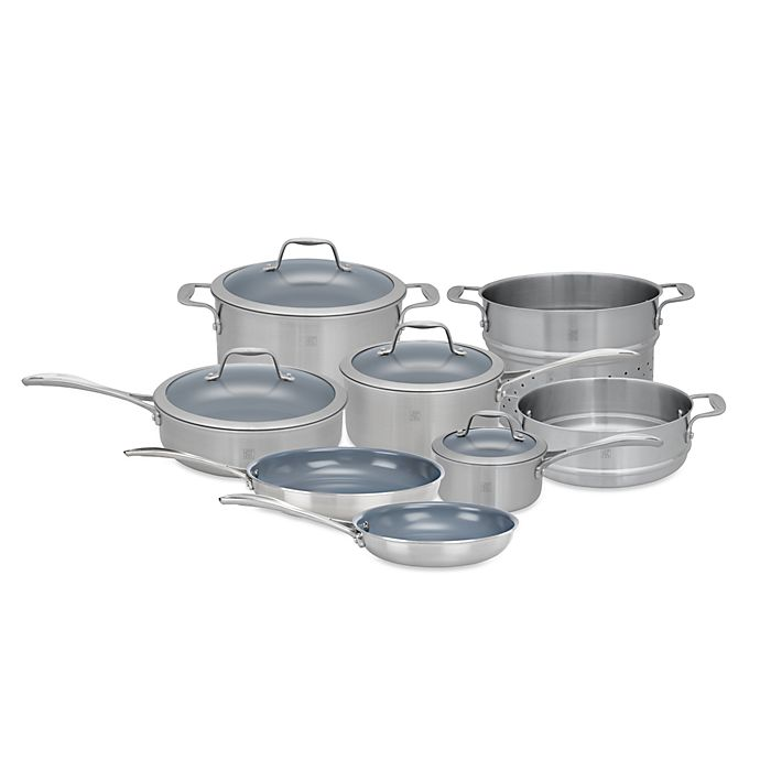 Kitchen Art 5 Ply Diamond Coating: Zwilling J.A. Henckels Spirit 12-Piece Ceramic Coated