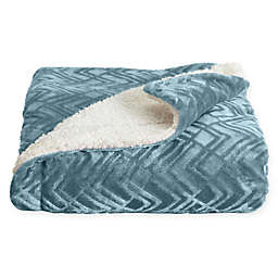 Home Fashion Designs Reversible Solid Twin Blanket