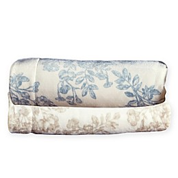 Home Fashion Designs Reversible Toile King Blanket