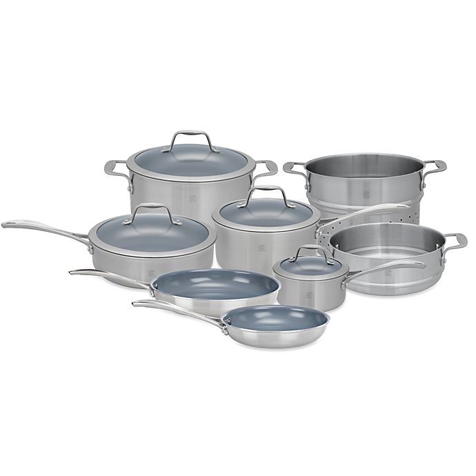 Alternate image 1 for Zwilling J.A. Henckels Spirit Ceramic Coated Nonstick Cookware Collection