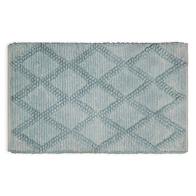 Chunky Diamond 24 X 40 Bath Rug Bed