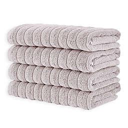 Brampton Hand Towels in Ivory (Set of 4)