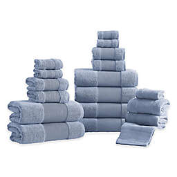 18-Piece Air Cloud Bath Towel Set