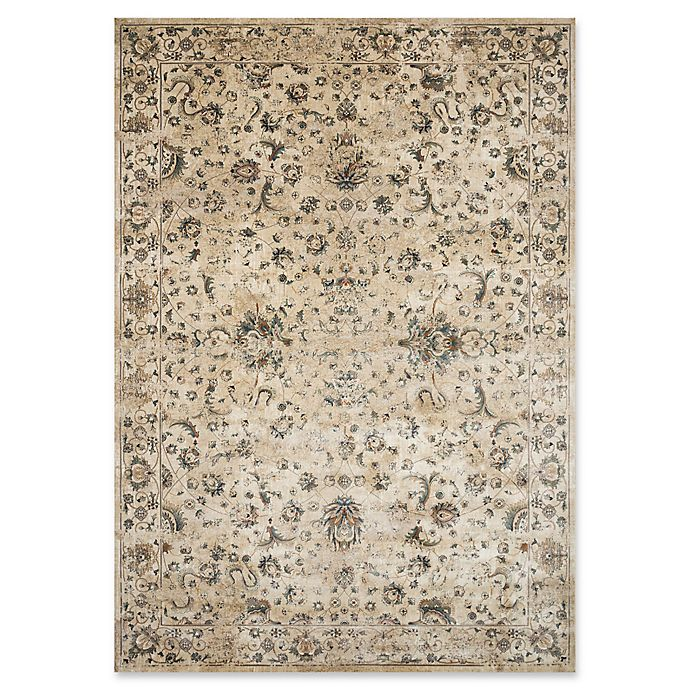 Alternate image 1 for Magnolia Home by Joanna Gaines Evie Power-Loomed Rug in Ivory