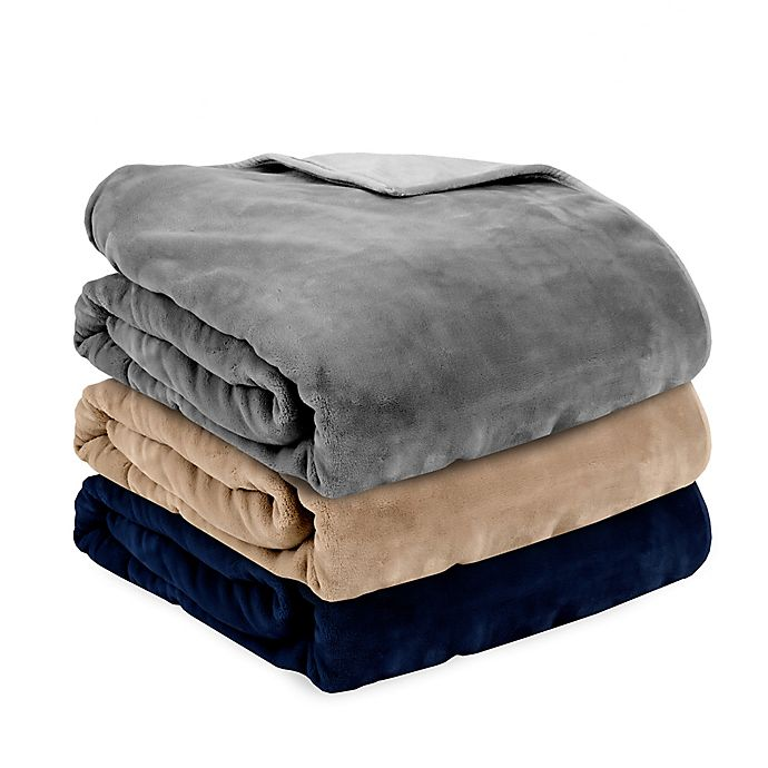 Alternate image 1 for Therapedic Reversible Plush Weighted Blanket